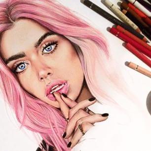 Elle Wills @elle_wills For this pink hai...Instagram photo | Websta (Webstagram)