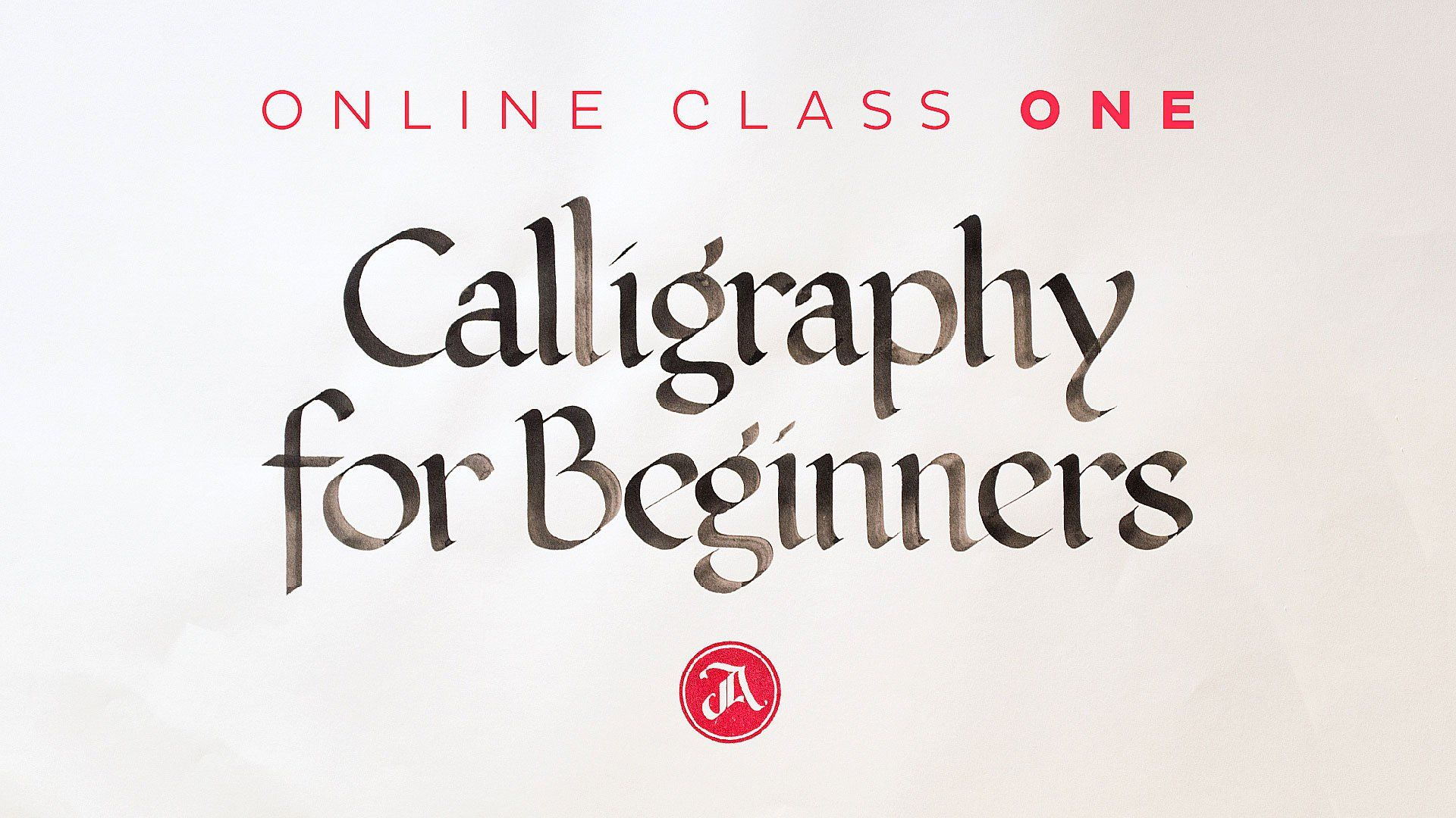 Calligraphy For Beginners Is A Class For Anyone Who Wants