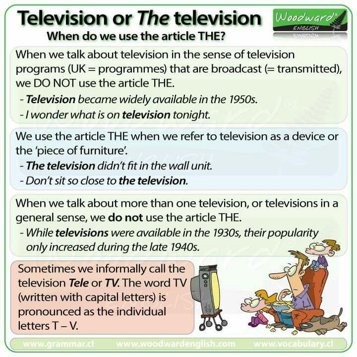Television - the television