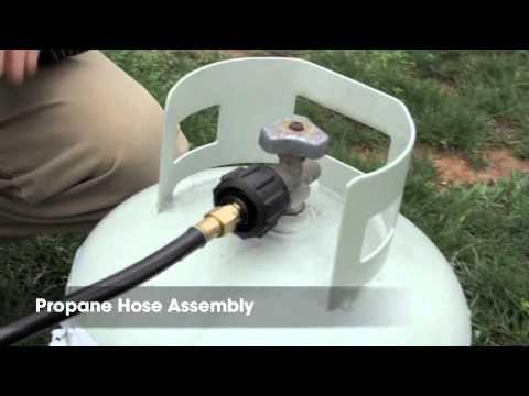 5 Propane Hose Assembly Acme To 1 Lb Camco 59823 Camco Acme Propane