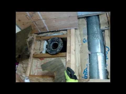 How To Replace The Sub Floor Under A Toilet Youtube With