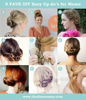 9 Favourite DIY Easy Updos by kitkt3235