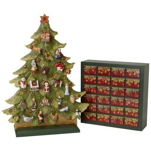 nostalgic ornaments adventskalender set 2014 villeroy boch beautiful things pinterest. Black Bedroom Furniture Sets. Home Design Ideas