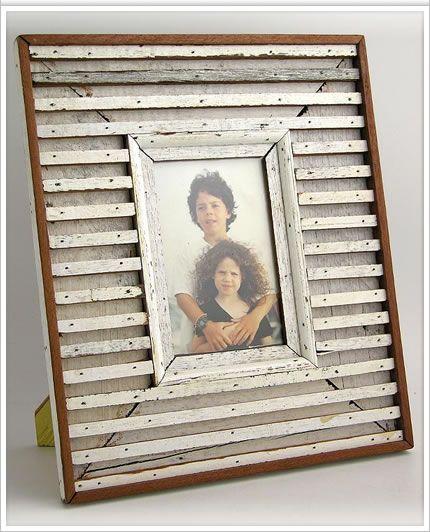 White Washed Wood Photo Frame The Home I Shall Build Wood