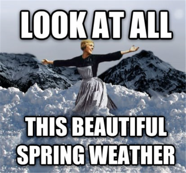 Spring Weather Winter Humor Funny Pictures Spring Funny
