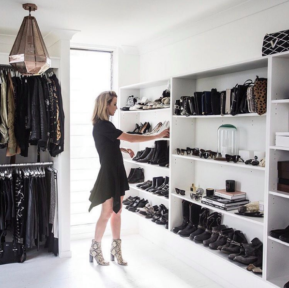 Best Walk In Closets the 23 prettiest walk-in closets on instagram | closet designs