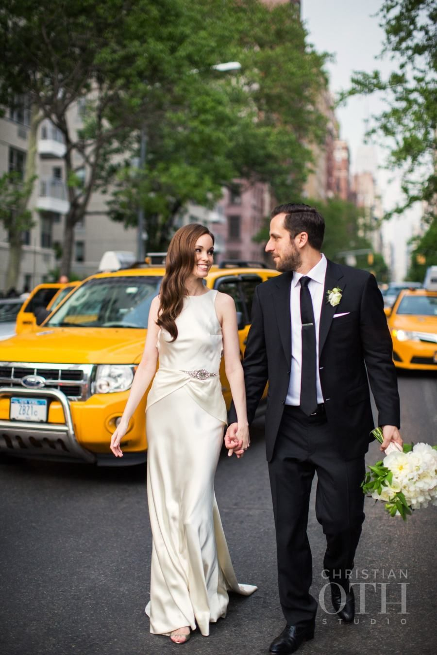 Photography: Glen Allsop/Christian Oth Studio - www.christianothstudio.com/   Read More on SMP: http://www.stylemepretty.com/2015/07/27/classic-elegant-new-york-city-wedding/