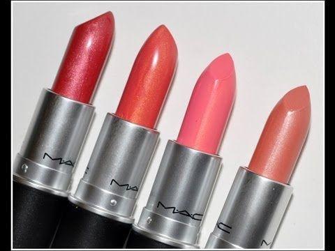 MAC Lipsticks for Medium/Tan/Dark Skin | Lipstick | Pinterest ...