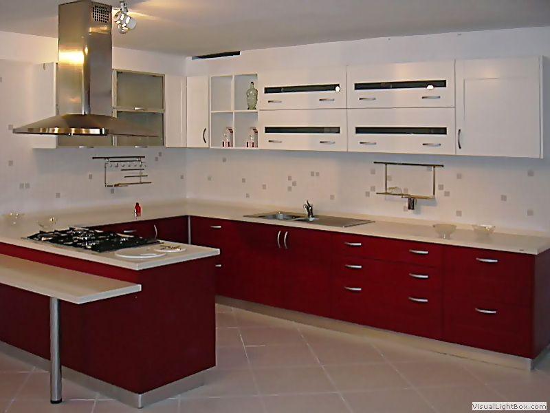Modelos de muebles de cocina de melamina buscar con for Modelos de cocina comedor pequenos