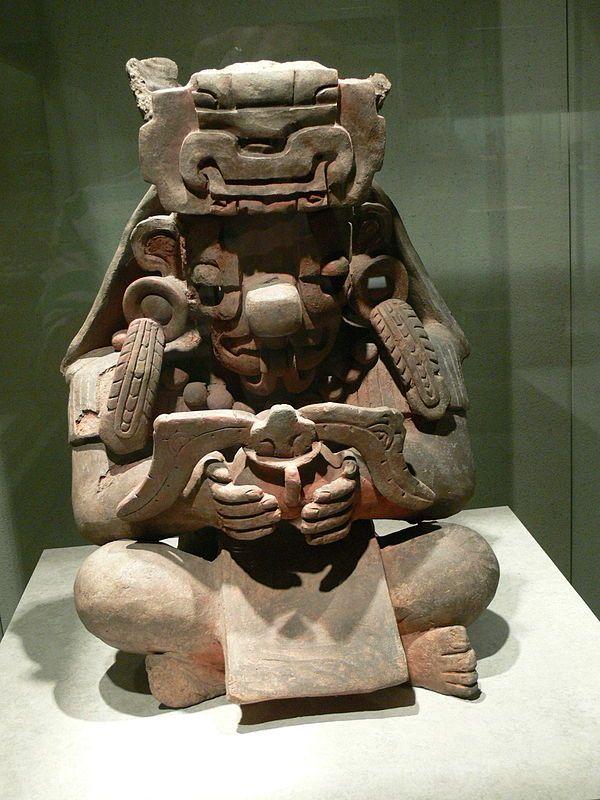 Cocijo Wikipédia Arqueología Mexicana Cultura Zapoteca Arte
