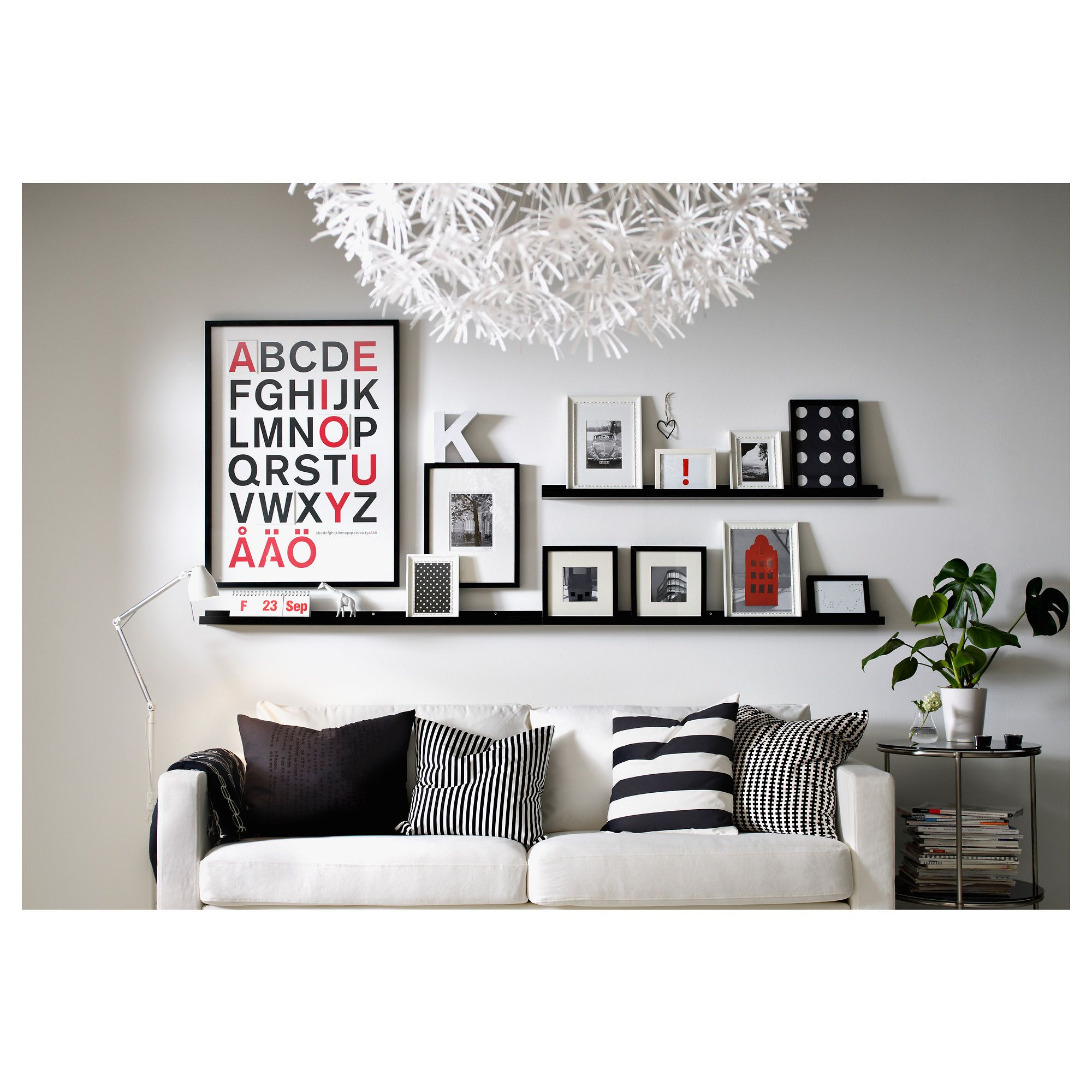 Schappen Woonkamer Ribba Picture Ledge Ideas For Space Pinterest