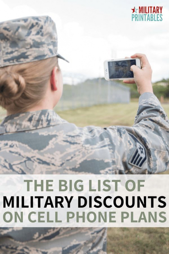 Best military discounts on cell phone plans from TMobile
