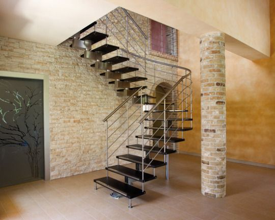 Discover All The Information About The Product Helical Staircase / Wooden  Steps / Metal Frame / Without Risers EXCELLENCE : TEKNA   CAST SCALE And  Find ...