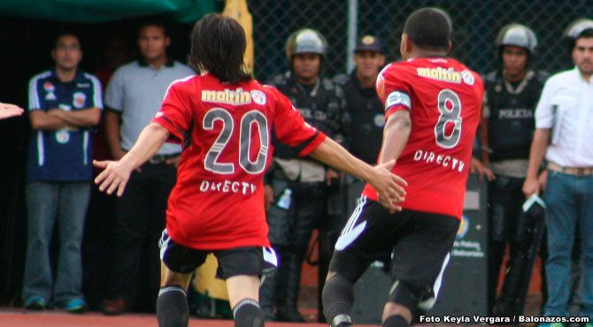 En duelo de coperos Caracas FC goleó 3x0 al Dvo Lara