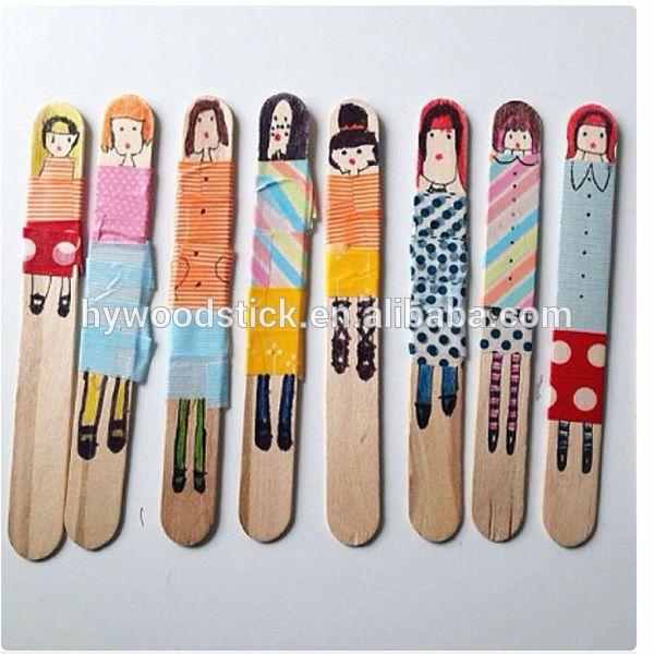 Wholesale Wooden Stick Diy Ice Cream Sticks Art And Craft