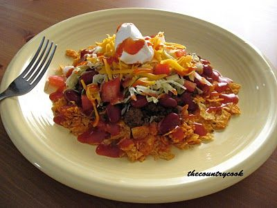 The Country Cook: Mom's Taco Salad