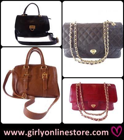Liquidação de Bolsas / Bag's Sale http://www.girlyonlinestore.com/index.php?route=product/category&path=75