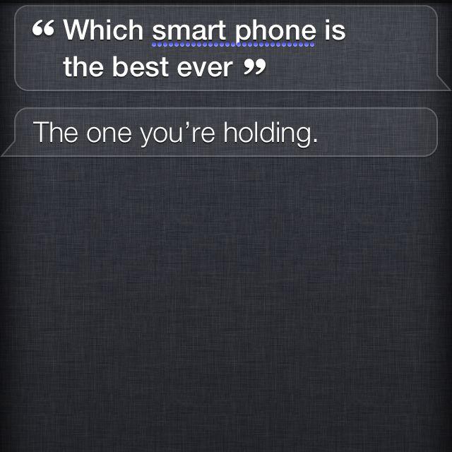 Siri on an iPhone 4s!