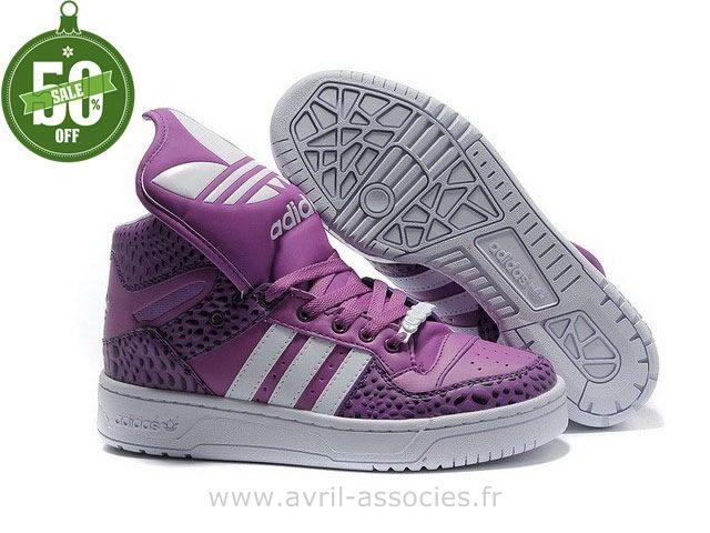 superstar adidas violet clair