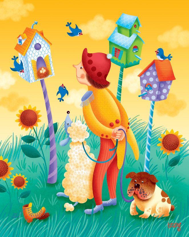 Unusual Nursery Rhymes Wall Art Images - Wall Art Design ...