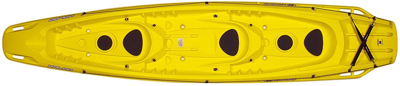 Amazon.com : BIC Kalao Deluxe Kayak, Yellow : Sports & Outdoors
