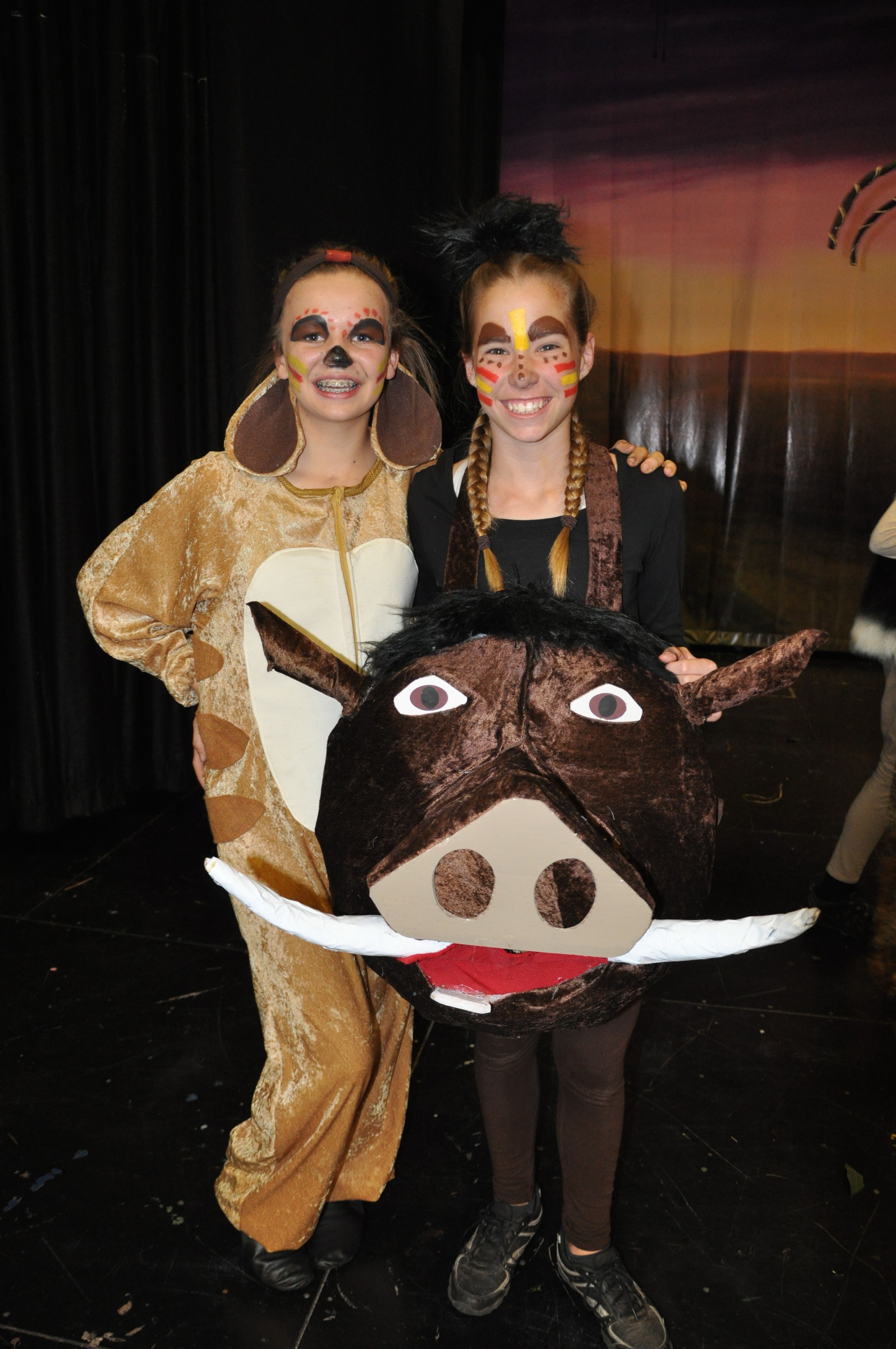 lion king broadway face paint - Google Search | School Production ...