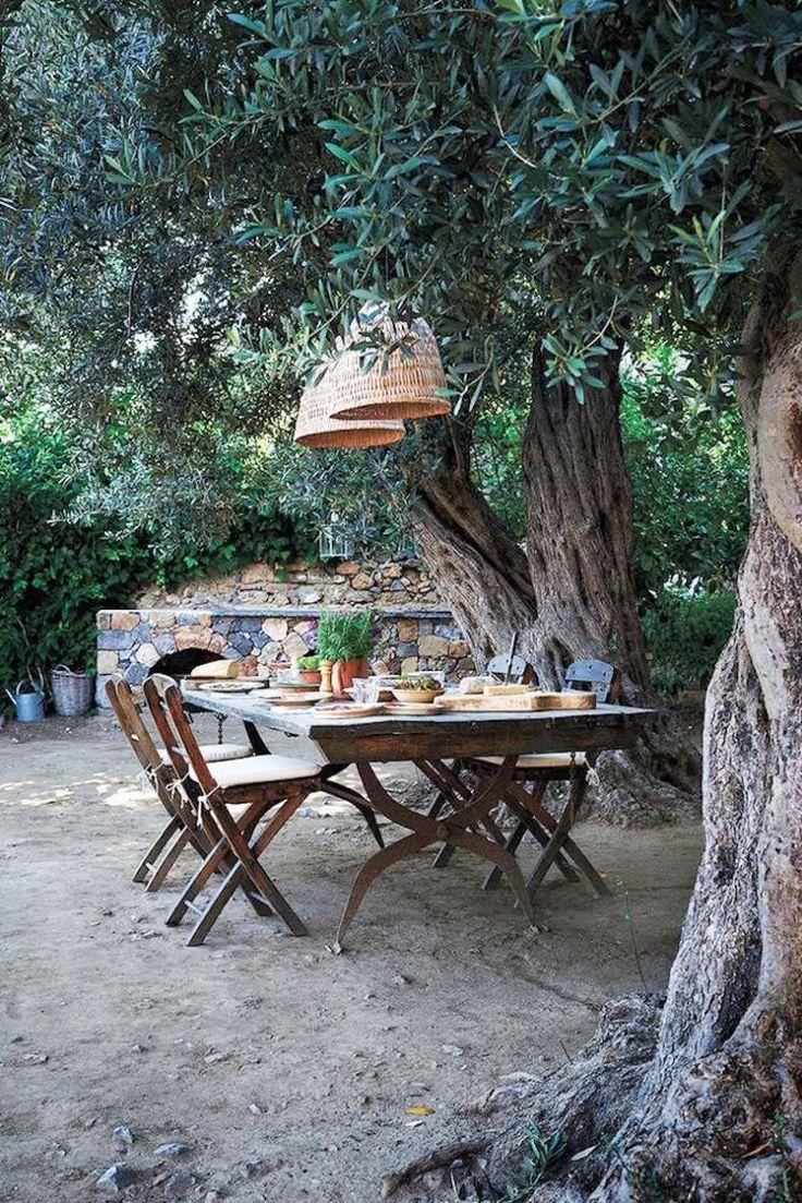Tavoli Da Giardino Decorati.39 Outdoor Living Dining Nel 2020 Tavoli Da Pranzo Da Esterno