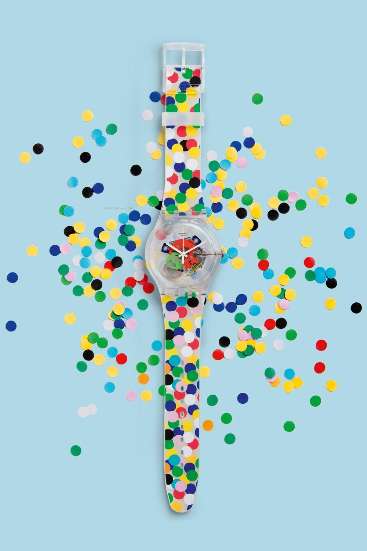 SWATCH Art Special: Spot The Dot SUOZ213 Alessandro Mendini