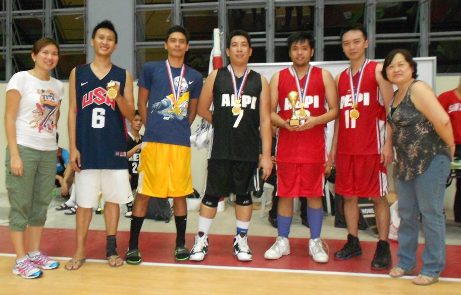 Basketball Tournament at Affinity Express, Manila