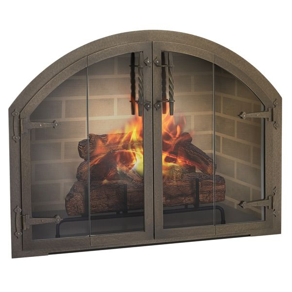 Blacksmith Fireplace Door Arch Template Required