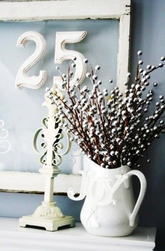 Creative Christmas Silver Decor Ideas, 2015 Silver Christmas Table Decorations, Christmas Table Decor Ideas - Greatest red berry Christmas 2015 tablescapes by lotte_95