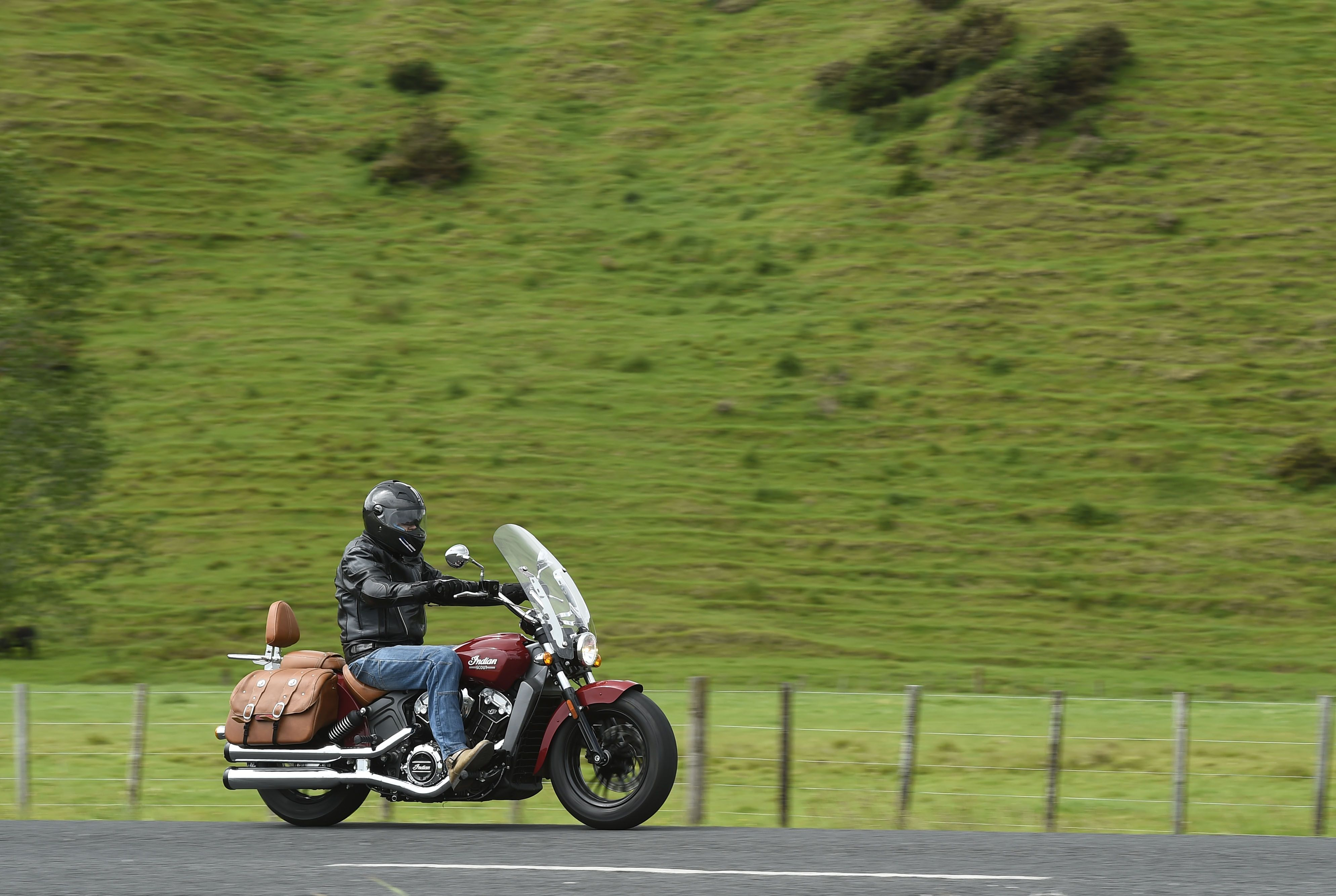 Indian Scout in New Zealand. Read my review http