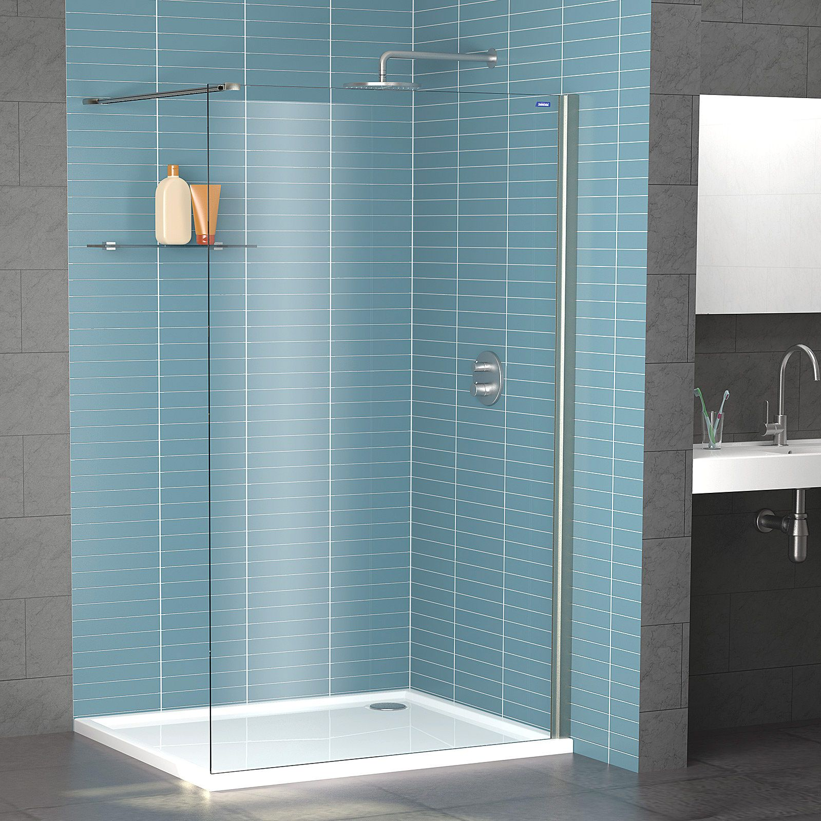 Showerlux Legacy Wetroom Panel 1400mm | Houses plans | Pinterest ...