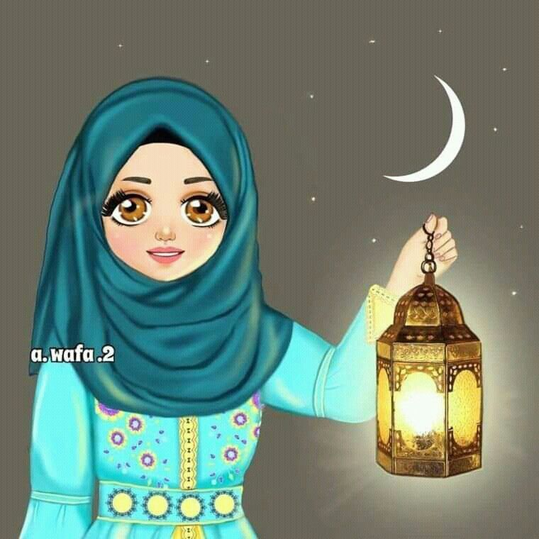 Image Discovered By عطرالياسمين Find Images And Videos About Islam On We Heart It The App To Get Lost In What You Love Anime Muslim Girly Drawings Girly Art
