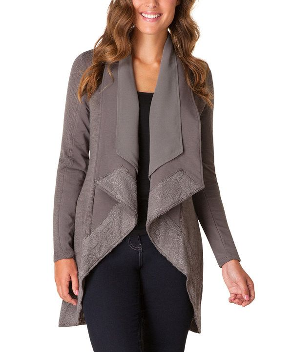 Look at this Yest Rock Carmela Cardigan on #zulily today!