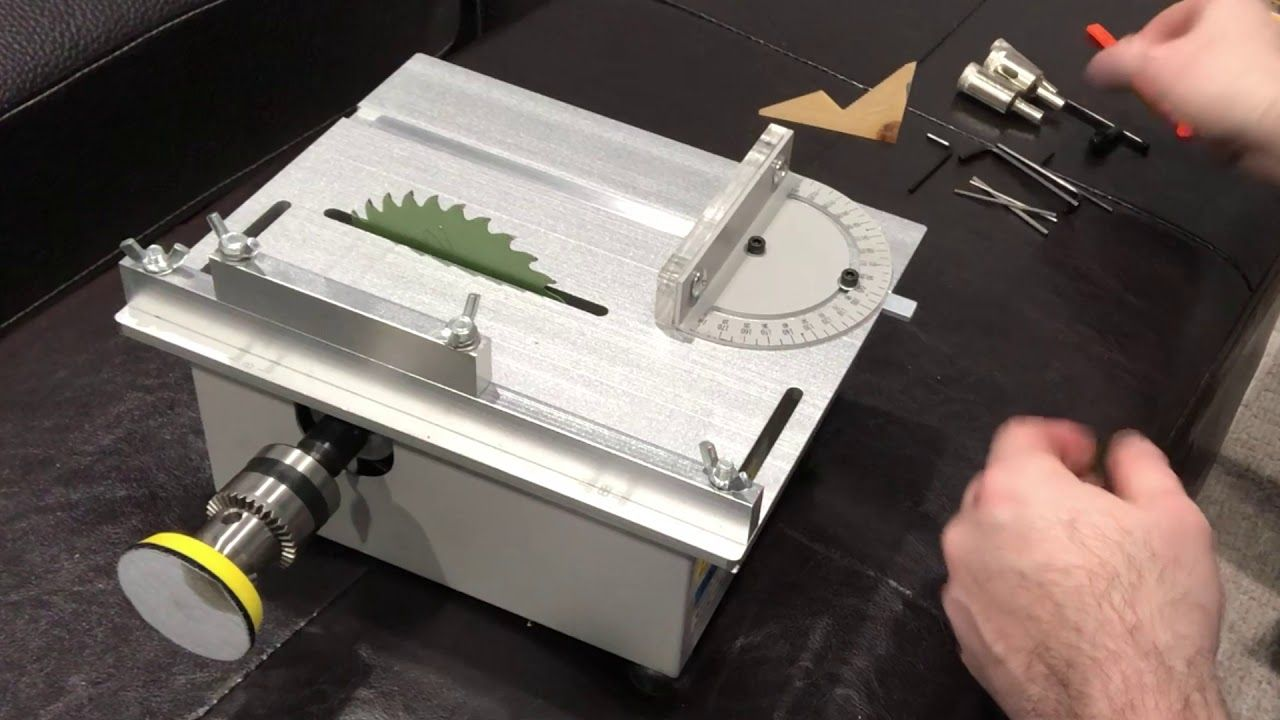 T5 Mini Precision Table Saw Unboxing Table Saw Best Circular Saw Woodworking At Home