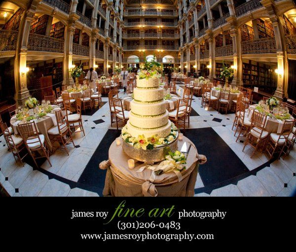 George Peabody Library Baltimore Md Historic Wedding Venue George