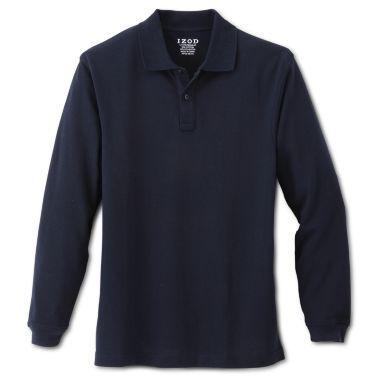 385297dcc5c72 IZOD® Long-Sleeve Polo Shirt - Boys 4-20 and Husky found at ...