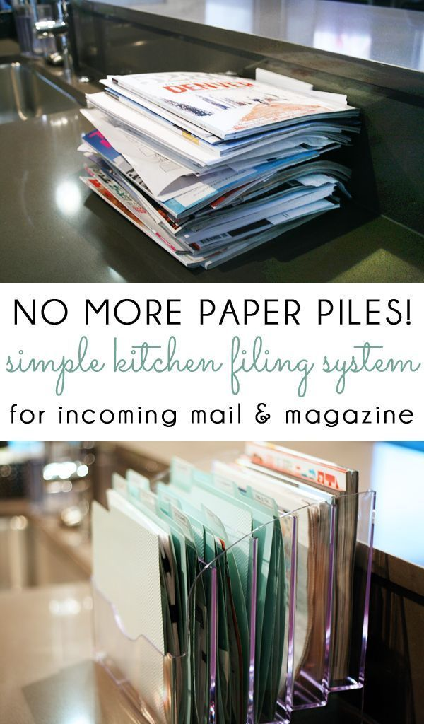 no more paper piles manage your incoming mail kids school papers catalogs and