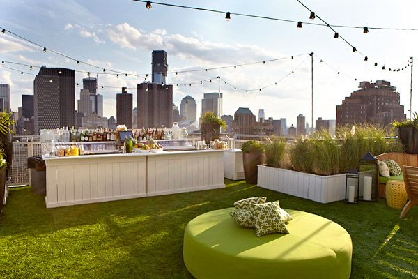 Mondrian Soho Opens Soaked Rooftop Drinks Bar