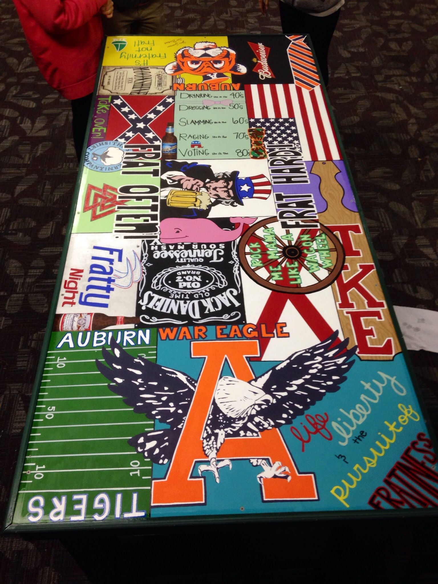 Hockey beer pong table - Diy Beer Pong Table Party Thoughts Pinterest I Am Classic Style And American Flag
