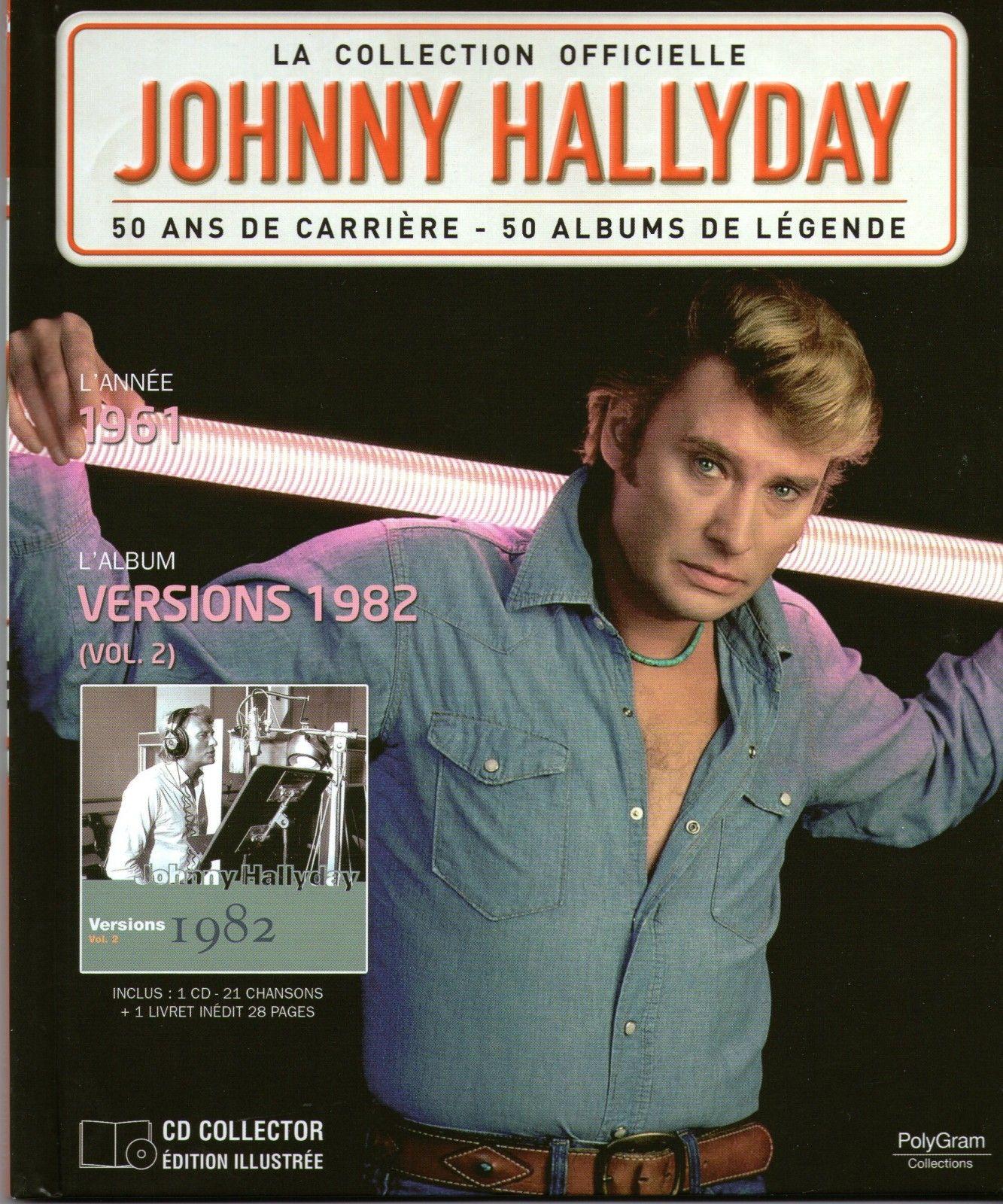 la collection officielle johnny hallyday 50 ans de carri re 50 albums de l gende johnny. Black Bedroom Furniture Sets. Home Design Ideas
