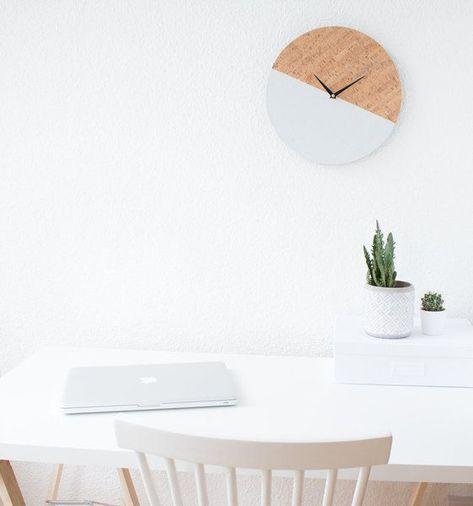 10 DIY-Ideen fürs Homeoffice im Skandi-Stil - homeoffice einrichtung ideen interieur