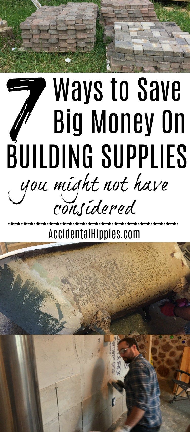 7 More Awesome Ways To Save Money On Building Supplies Home Building Tips Home Repairs Build Your Own House