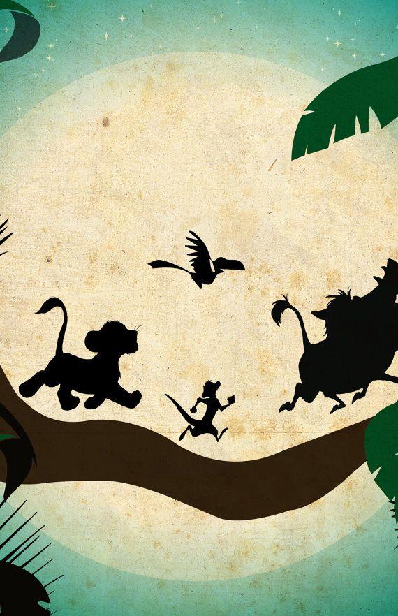 Disney movie poster The Lion King in 2020 Disney movie