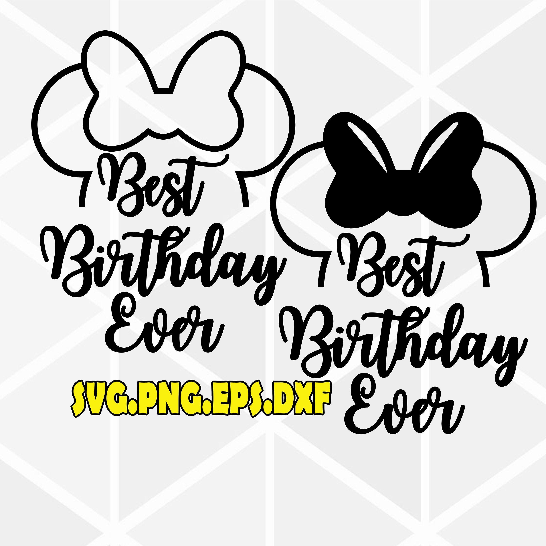 Best Birthday Ever svg . Birthday Girl SVG .birthday squad