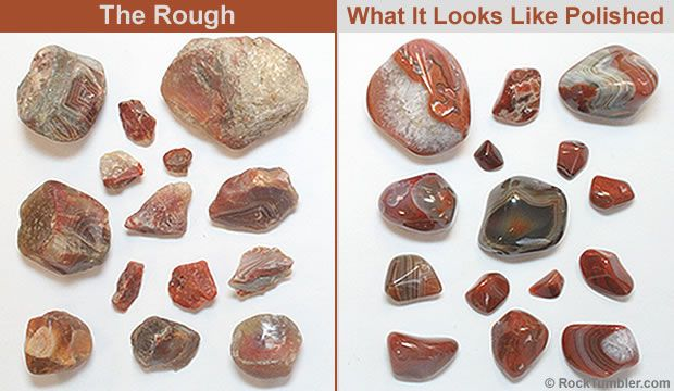 Lake Superior Agate Rough - Great for your rock tumbler