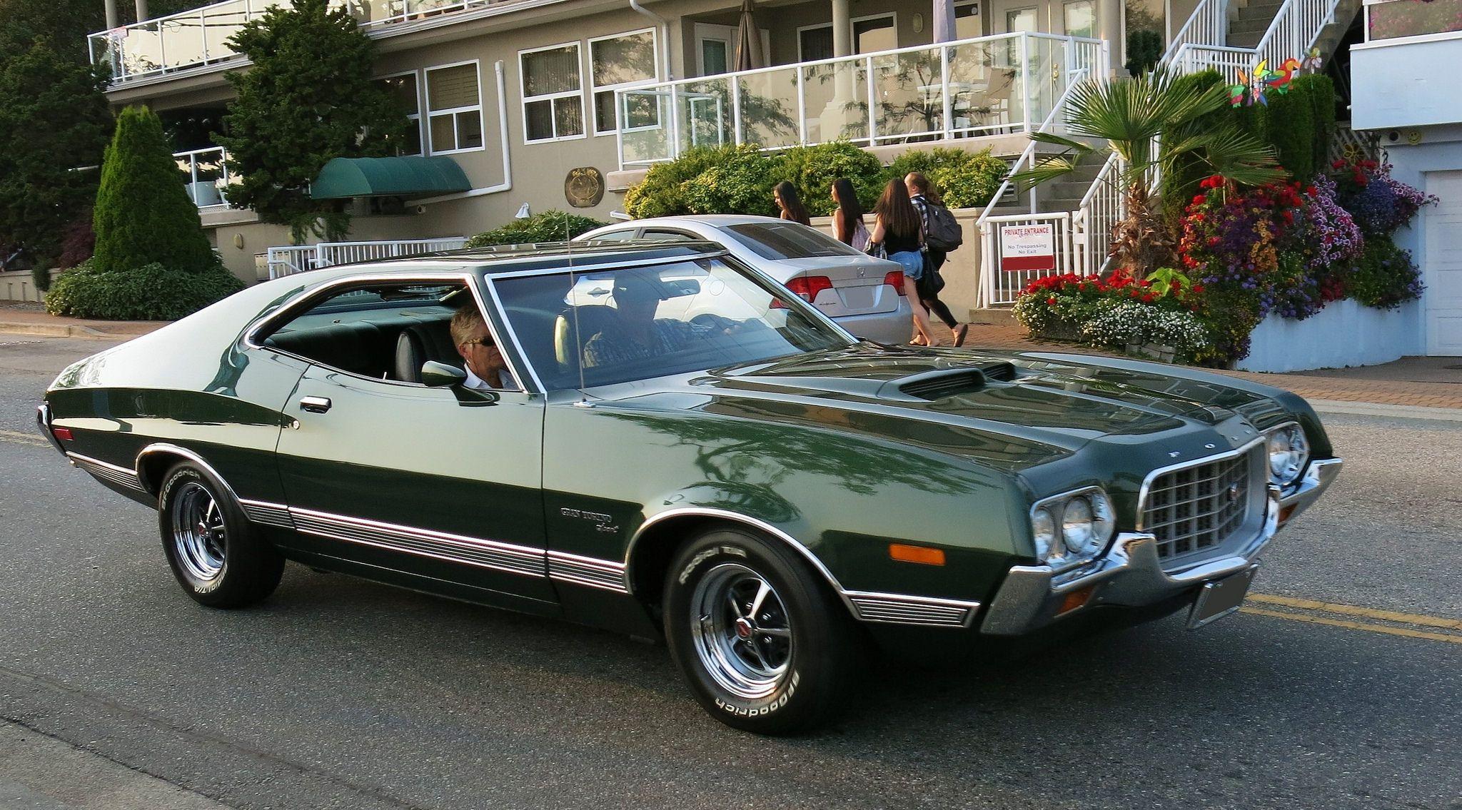 1972 Ford Gran Torino Sport Muscle Cars Classic Cars Grand Torino