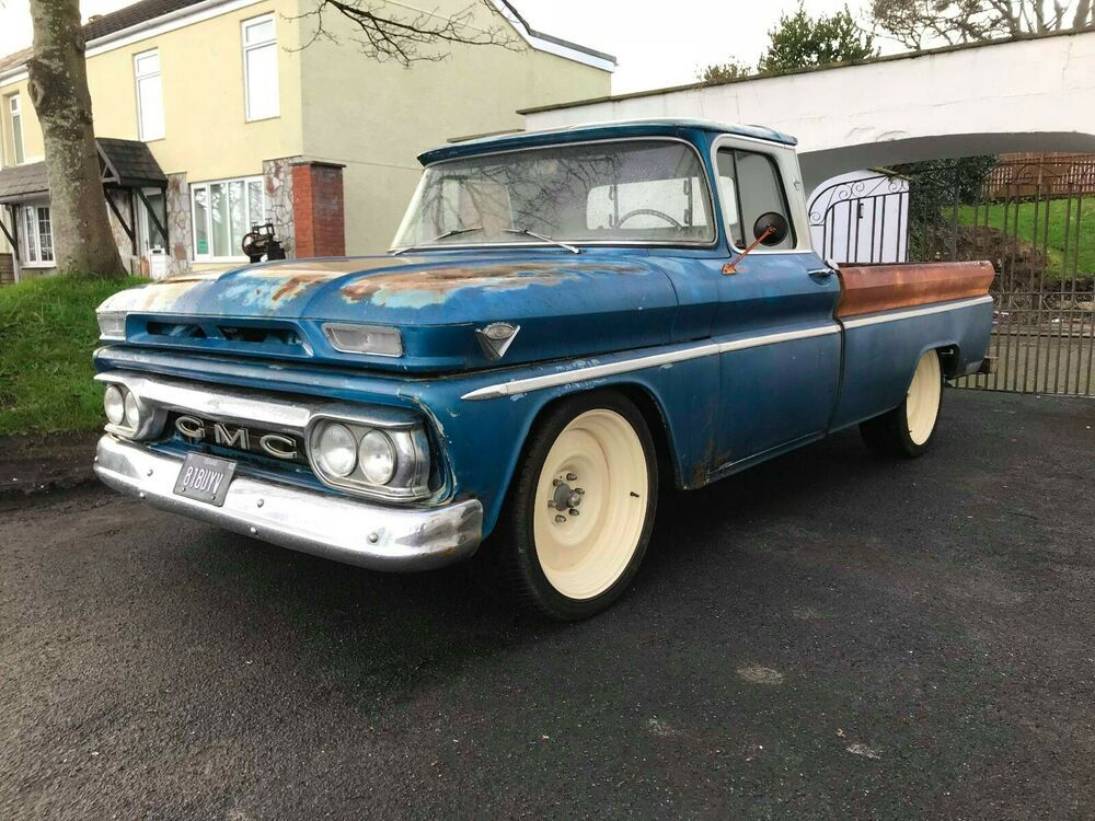 1960 1966 Chevrolet And Gmc Truck Lmc Truck Features Products >> Ebay 1962 Gmc 1000 C10 Pick Up Truck Rat Rod Patina Chevy