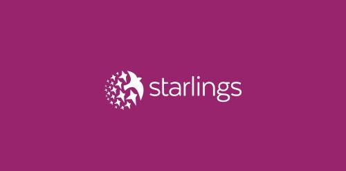 Starlings   Logo Inspiration   Logo inspiration, Logo design